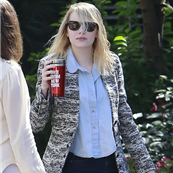 Emma Stone arrives for a meeting in LA  129074