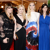 Kate Mulleavy, Dakota Fanning, Elle Fanning and Laura Mulleavy attend the 2013 Costume Institute Gala 149531