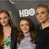 Sophie Turner, Maisie Williams, and Natalie Dormer attend 'Game Of Thrones' The Exhibition New York Opening  145264