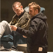 Ryan Gosling and Matt Smith on the set of How To Catch A Monster 150664