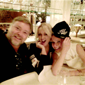 Gwyneth Paltrow out for dinner with radio hosts Kyle and Jackie  150324