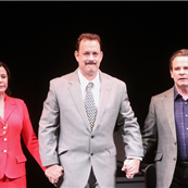 Tom Hanks at curtain call during the opening night of Lucky Guy in NYC 145509