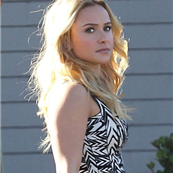 Hayden Panettiere at a studio in Los Angeles  131471