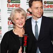 Helen Mirren and Tom Hiddleston at the Jameson Empire Awards 2013 in London 144718