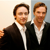 James McAvoy and Benedict Cumberbatch at the Los Angeles Premiere Of Starter For 10 in 2007 131894