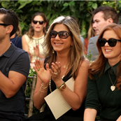 Tobey Maguire, Jennifer Aniston, and Isla Fisher attend CFDA/Vogue Fashion Fund Event 130307