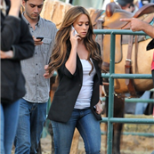 Jennifer Love Hewitt on a rodeo set of 'The Client List' in Los Angeles 134706