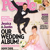 Justin Timberlake and Jessica Biel's People cover 130046