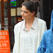 Katie Holmes on the set of Mania Days 146444