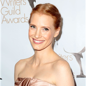 Jessica Chastain at the 2013 Writers Guild Awards 140237
