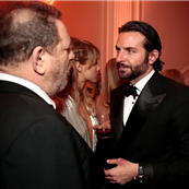 Harvey Weinstein and Bradley Cooper attend the Bloomberg Vanity Fair White House Correspondents' Association dinner afterparty 148166