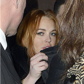 Lindsay Lohan out in London earlier in January, 2013  138305