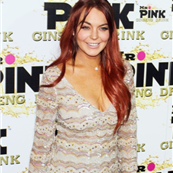 Lindsay Lohan at Mr. Pink's Ginseng Energy Drink launch in Beverly Hills  129191