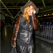 Lindsay Lohan and her mother Dina Lohan head to Los Angeles from JFK airport ahead of Lindsay's court appearance  138336