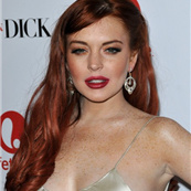 Lindsay Lohan at the Los Angeles premiere of Liz & Dick  132667