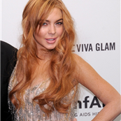 Lindsay Lohan at the amfAR gala in New York City  139950