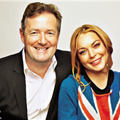 Piers Morgan and Lindsay Lohan 149010