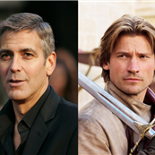 George Clooney and Nicolaj Coster-Waldau 146262