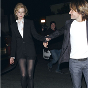 Nicole Kidman and Keith Urban leave the Eveleigh restaurant in LA after a Valentine's dinner 140184