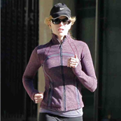 Nicole Kidman goes for a run in France 112222