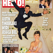 Justin Timberlake and Jessica Biel cover HELLO Magazine  130432