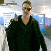 Brad Pitt arrives at LAX  135987