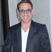 Robert Downey Jr and his wife Susan go to Mastro's for dinner 150109