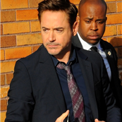 Robert Downey Jr. arrives at The Daily Show with Jon Stewart  148522