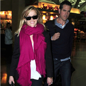 Reese Witherspoon and Jim Toth arrive at JFK airport 150763