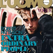 Robert Pattinson covers L'Uomo Vogue  131021