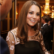 Catherine, Duchess of Cambridge at a reception for the Team GB Olympic and Paralympic medalists at Buckingham Palace 130087