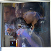 Scarlett Johansson lunching with reported new boyfriend Romain Duriac in NYC on October 16th 132513