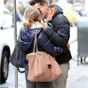 Scarlett Johansson and her boyfriend Romain Dauriac in New York 134291