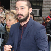Shia LaBeouf arrives for his appearance on The Late Show with David Letterman  145387
