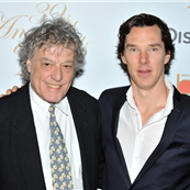 Tom Stoppard and Benedict Cumberbatch at The 39th Broadcasting Press Guild (BPG) Television and Radio Awards 143795