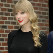 Taylor Swift at the Ed Sullivan Theater for The Late Show With David Letterman 130197