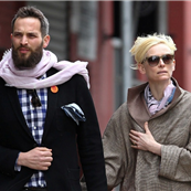 Tilda Swinton and boyfriend Sandro Kopp in New York 147214