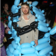 Aaron Paul at Maroon 5 Halloween party 131017