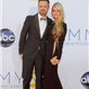 Aaron Paul and Lauren Parsekian at the 2012 Emmy Awards 127165