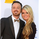 Aaron Paul and Lauren Parsekian at the 2012 Emmy Awards 127167
