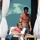Jennifer Aniston and Justin Theroux sunbathe in Cabo 135463