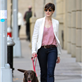 Anne Hathaway walks her dog in Brooklyn 120336