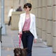 Anne Hathaway walks her dog in Brooklyn 120339