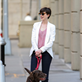 Anne Hathaway walks her dog in Brooklyn 120340