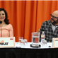 Alia Shawkat and David Cross attend The Netflix Original Series 'Arrested Development' Press Conference at Sheraton Universal 150602
