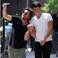 Jason Bateman and Will Arnett hold hands in New York 151427