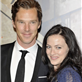 Benedict Cumberbatch and Lara Pulver at the Specsavers Crime thriller Awards 2012 129723