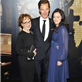 Benedict Cumberbatch, Una Stubbs and Lara Pulver at the Specsavers Crime thriller Awards 2012 129725