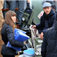 Jessica Biel and Justin Timberlake hand out relief items to Hurricane Sandy victims in New York  131722