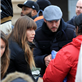 Jessica Biel and Justin Timberlake hand out relief items to Hurricane Sandy victims in New York  131723